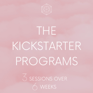 Level 1: The Kickstarter Programs - 3 sessions over 6 weeks